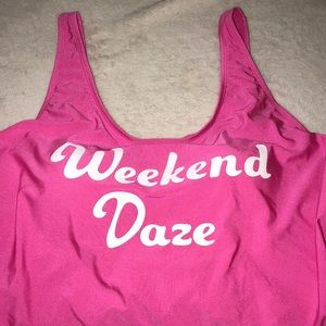 Pink Swim Suit